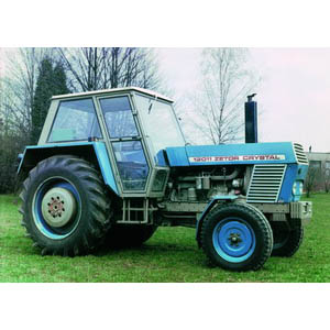 Zetor Crystal Tractor Mid 1960s Czech 100 Design Icons